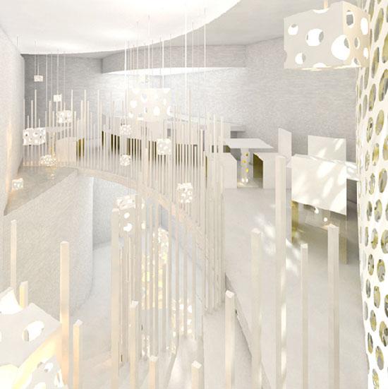 日本建筑师kotaroo horiuchi :salon du fromage